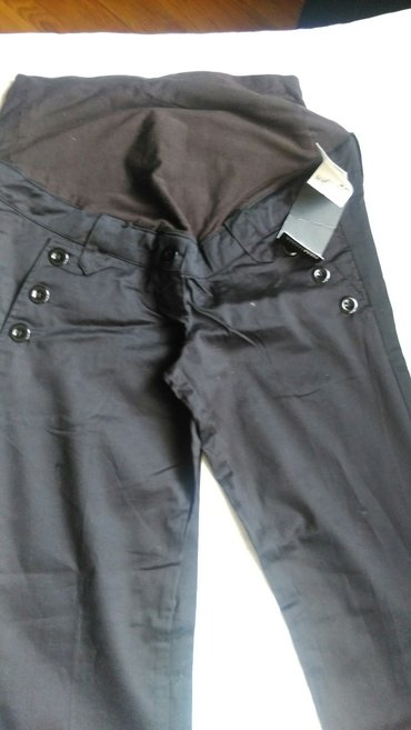 Pantalone za trudnice,crne elegantne,militari i tamnosive somot. - Belgrade