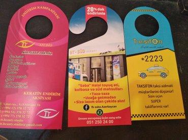 Bakı şəhərində Ucuz reklam- şəkil 4