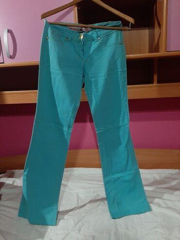 Zenske pantalo - Srbija: Plave zenske pantalone veličina 29