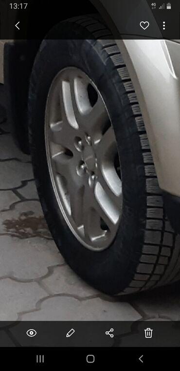 шины зимние бу r16 в Кыргызстан: Зимние шины с дисками на субару аудбек