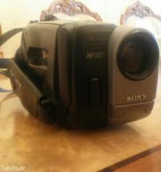 Bakı şəhərində Sony videokamera