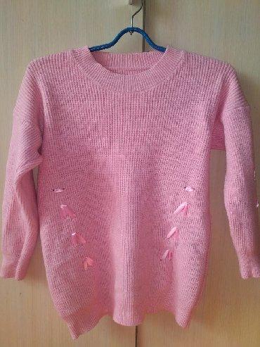 розовый свитерок в Кыргызстан: Розовый свитер