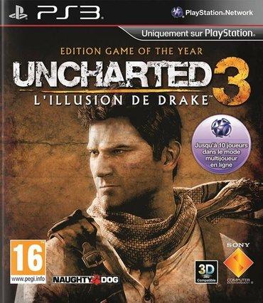 """Bakı şəhərində """"uncharted 3"""" ps3 oyunu"""