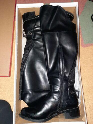 Svaka po - Srbija: Čizme Duboke Safran čizme,nošene svega par puta. Mogu da se savija da