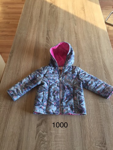 Dečije jakne i kaputi | Indija: Topomini vel 86 (1-2god) svega nekoliko puta nosena, deblja jakna za