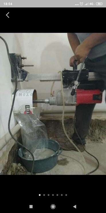 бетон плита цена бишкек в Кыргызстан: Алмазное сверление алмазное бурение сверлим кирпич бетон отверстие под