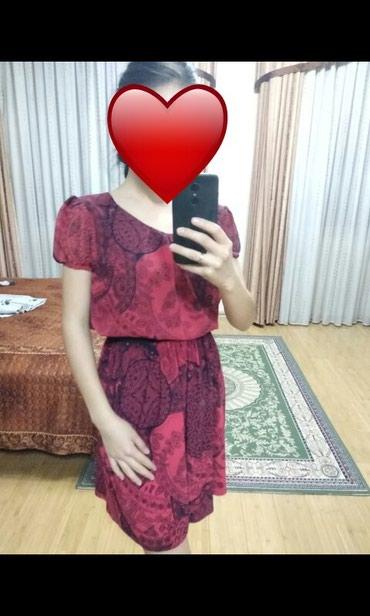 Продаю платье пояс на резинке очень удобное, практичное в Бишкек
