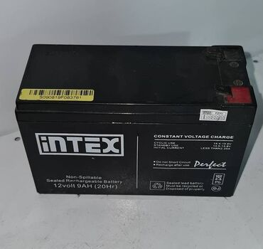 Аккумуляторная батарея intex 12v 9 ah