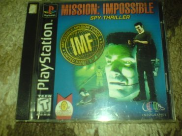 Bakı şəhərində Mission impossible oyunu playstation 1 ucun qiymet sondur