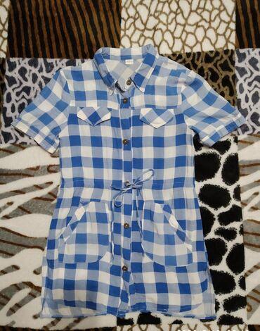 Рубашка-туника на девочку лет 5-7