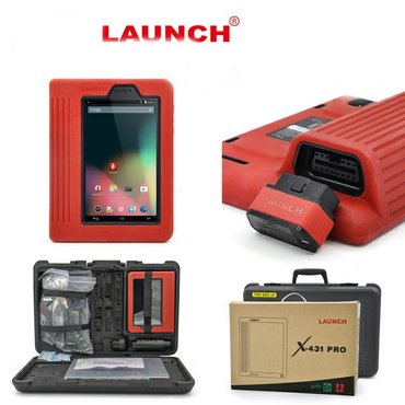 продам сканер launch x431 pro и стенд для чистки форсунок. за все прош in Бишкек