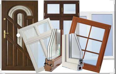 Окна, двери - Бишкек: Продаю окна и двери по самым низким ценам!!!