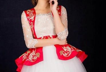 Новое национальное платье, размер L (40).Очень красиво сидит. By Mery