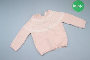 Дитячий светр з візерунками Next, вік 9-12 міс., зріст 80 см.   Довжин