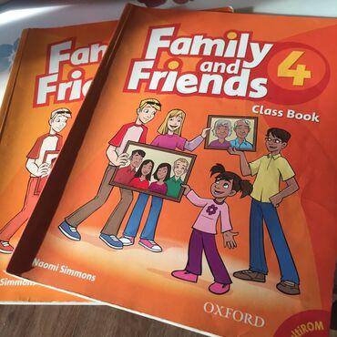 диски б у 4 в Кыргызстан: Оригинальная книга «Family and friends 4»  Состояние б/у С диском