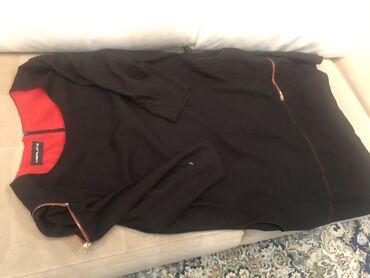 чёрное платье размер 50 52 в Кыргызстан: Платье итальянское. 50-52 размер на наш