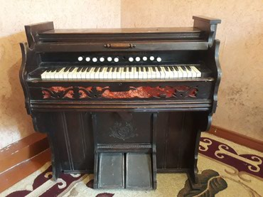 Bakı şəhərində Antikvar musiqi aləti FİSQARMONİYA -Arqan- ABŞ istehsali - 1874