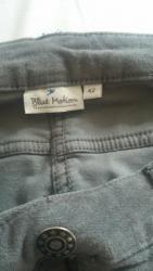 Pantalone-dublje-mekane-i-rastegljive-xl - Srbija: Prelepe mekane pantalone sive cena 700din