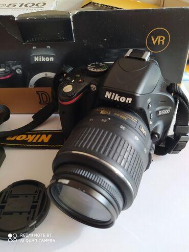 фотоаппарат сони в Кыргызстан: Продаю фотоаппарат Nikon 5100.В идеальном состоянии, использовался