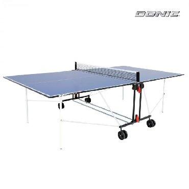 Теннисный стол DONIC INDOOR ROLLER SUN BLUE 16ммНОВЫЙ !!!Теннисный