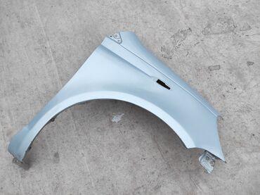 Автозапчасти - Состояние: Б/у - Токмок: Правое крыло на Тойота Витц. Цвет голубой