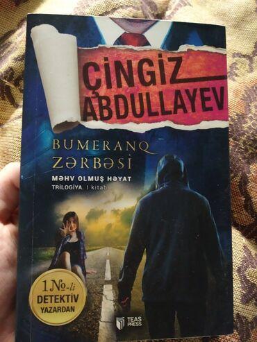 İdman və hobbi - Şirvan: Çingiz Abdullayev- Bumeranq zərbəsi. Kitab tamamilə təzə