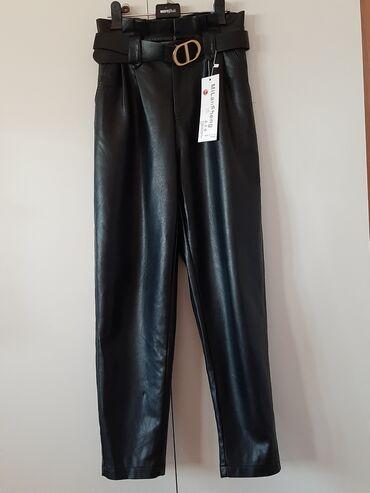 продам нов в Кыргызстан: Продам брюки из Эко-кожи. Размер 44-46. Новые. Забрать можно