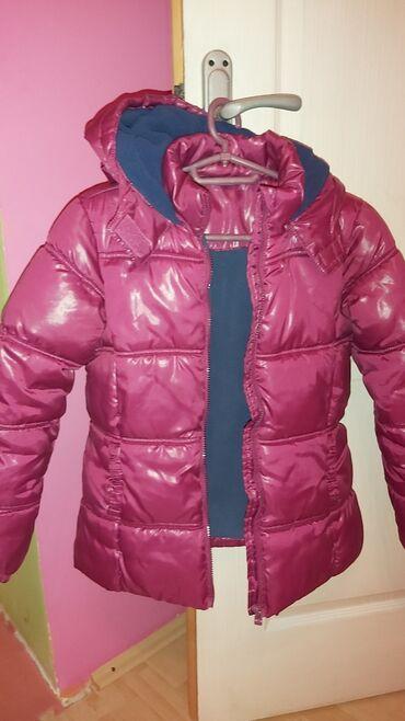 Dečija odeća i obuća - Irig: Decija zenska zimska jakna.  Velicina 12-13 Malo nosena