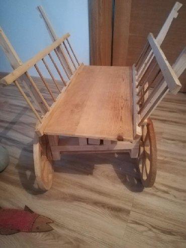 Pokretna mini kolica, iskljucivo za cvece. PROMOCIJA cena 5500