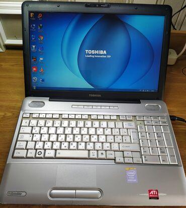 Toshiba - Azərbaycan: TOSHIBA L500  intel Core Duo 2.10ghz  RAM - 4 GB  HDD (Yaddas) 320 GB