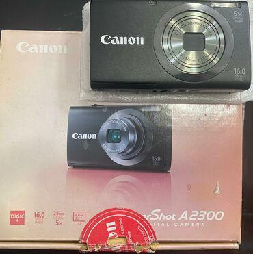 сенсорный фотоаппарат в Азербайджан: CANON FOTO APARAT (PAKOFKA TEZE)