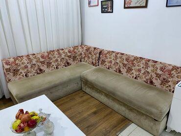 2192 elan | DIVANLAR: Uglovoy bazalı divan. Altı açilır. Yeni deyil. Bir ildi alinib. Salon