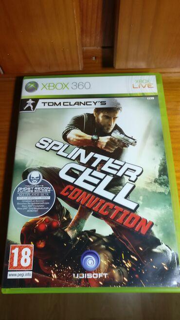 Xbox 360 & Xbox | Srbija: Splinter Cell Conviction Xbox 360  Polovna igra za Xbox 360 koja je te