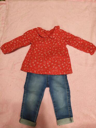 Кастюмчик на девочку 6-9 месяцев, состоянии идеал