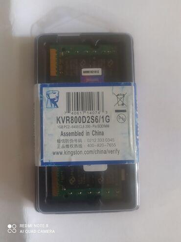 Компьютеры, ноутбуки и планшеты - Кыргызстан: Продаю оперативную память для ноутбук. Sodimm ddr2 по 1gb pc2-6400cl6