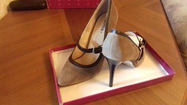 Продаю туфли на шпильках, замша, 38 размер производство Россия