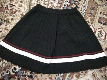 Юбка черная под корейский стиль. в Бишкек
