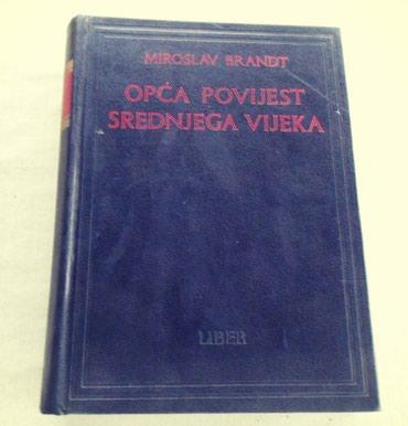 Knjige, časopisi, CD i DVD | Loznica: Opća povijest srednjega vijeka Autor: Miroslav Brandt Srednjovjekovno