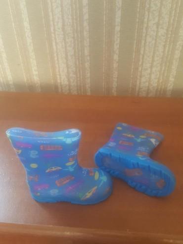 детские резиновые босоножки в Азербайджан: Новые резиновые сапожки разм 6. (16.5 sm.) mathecare