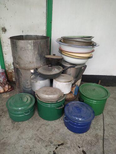 26 объявлений: Баки, кастрюли, тазики, чайники, сковородки!Цены договорные!Посмотреть