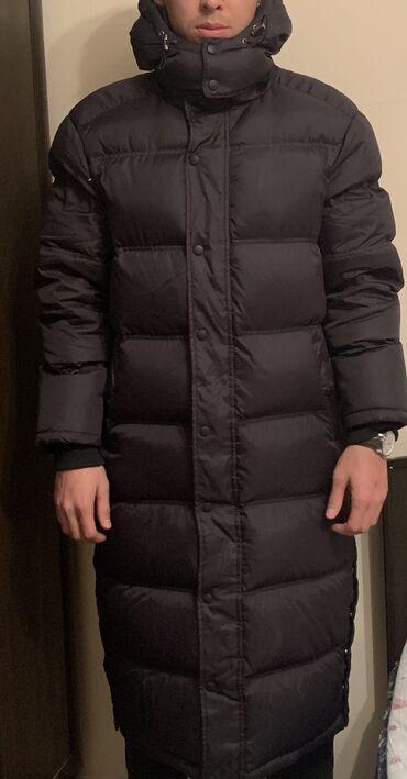 Куртка пуховик в отличном состоянии   унисекс  170-185 см  Поменяю на