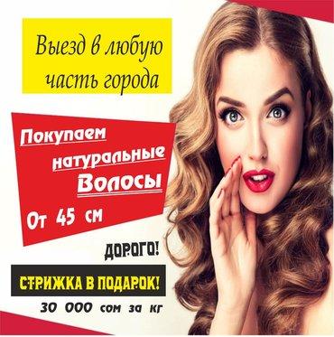 кресло реклайнер для наращивания ресниц цена в Кыргызстан: Покупаем волосы!По самой лучшей цене!Не окрашенные!Стрижка в