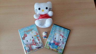 2 igracke hello kitty + poklon 2 dvd - Beograd