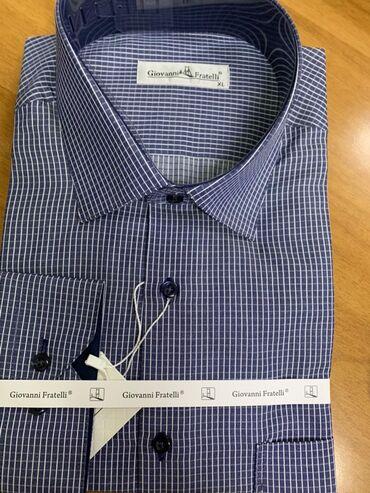 Рубашка летняя мужская - Кыргызстан: Турецкие рубашки Мужские рубашкиКачество 100% Giovanni FratelliРазмер