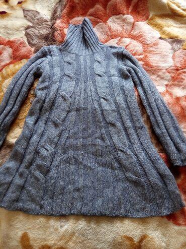 Зимняя подростковая туника-светер для 10-15 лет. Состояние отличное