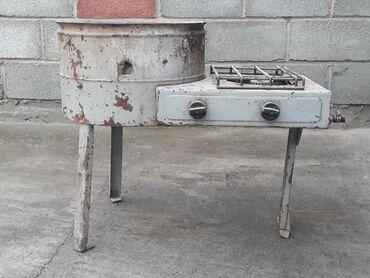 Кухонные принадлежности в Шопоков: Газплита переносной двух камфорочный. Советский
