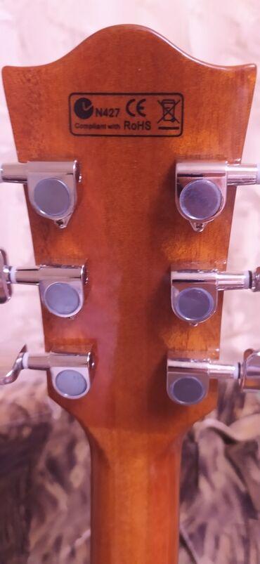 Электро муравей - Кыргызстан: Продаю электроакустическую гитару 41 размера в идеальном состоянии