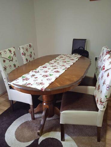 Frizerska stolica - Beograd: Novogodisnji setovi* navlake za stolice sirina 45* nadstolnjak 40x150-