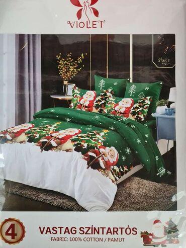 Pamucna posteljina100% pamukSet sadrzi:4 delaJorganska navlaka