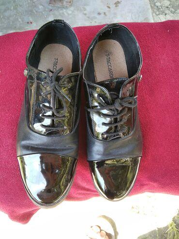 Kadın ayakkabısı, temiz deri,1-2 defe geynilib